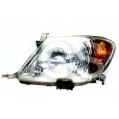 Hilux LH Head Light 03/05-10/08 *POLISH